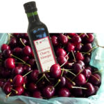 CHERRY VINEGAR in box of cherries