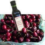 CHERRY VINEGAR in box of cherries
